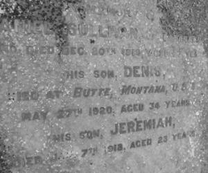 Sullivan Family Headstone in Allihies