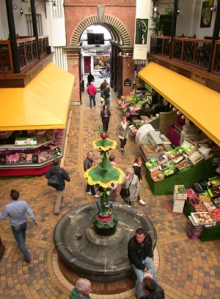 Cork English Market Main Entrance Interior